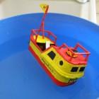 "Fabrication d'un bateau ""pop pop"""