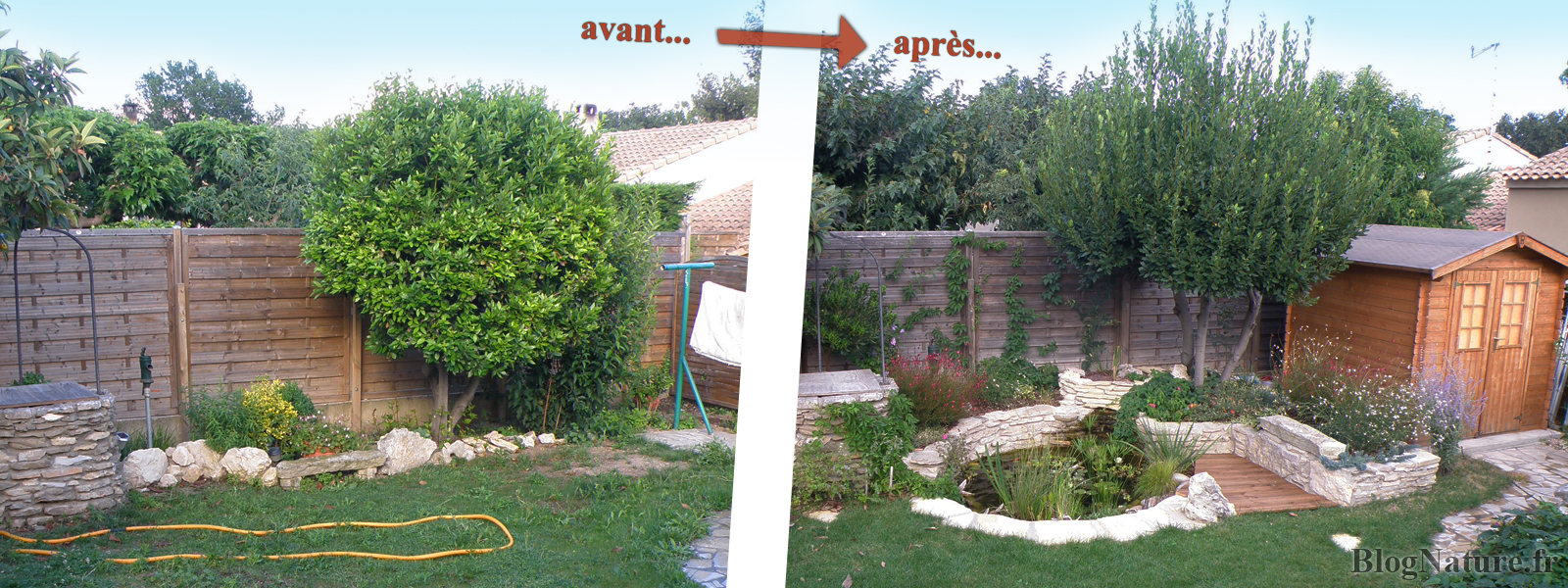 R ve de gosse un bassin dans le jardin for Jardin 50m2 amenager