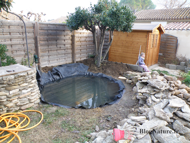 Amenagement bassin de jardin gallery of dcoration bassin for Construire son bassin a poisson