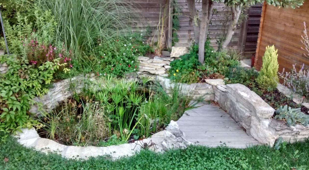 R ve de gosse un bassin dans le jardin for Pompe bassin poisson exterieur